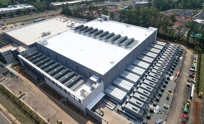 The project team was able to deliver in just 180 days this two-story, 22.5-MW, 225,000-sq-ft greenfield data center, including the fit-out and commissioning of 160,000 sq ft of data hall space an...